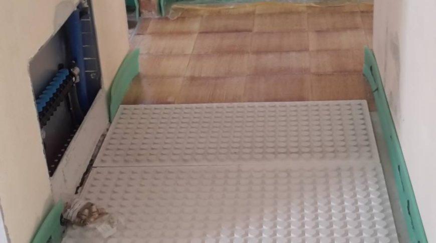 Impianto a secco radiante - Massafra (TA)