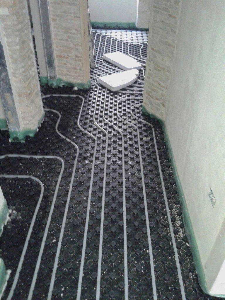 Ristrutturazione Riscaldamento A Pavimento impianto a pavimento caldo - eco solution clima